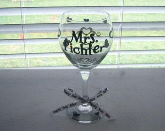Bride's Wine Glass