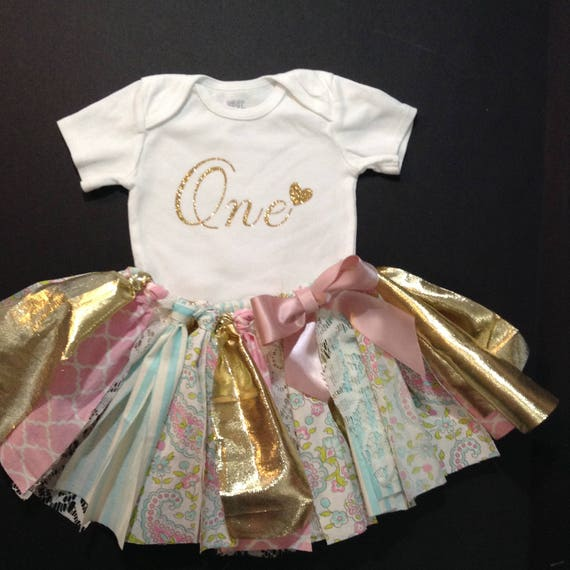 Outfits & Sets Apprehensive First 1st Birthday Baby Girl Tutu Outfit Set Cake Smash 1 Year Online Shop