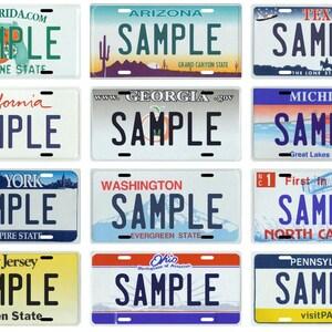 FINSchepai Custom Personalized License Plate Pipefitters 6x 12 Car Tag Aluminum