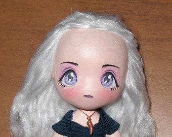 Chibi Daenerys Targaryen inspired mini art doll