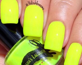 Neon Yellow Indie Nail Polish