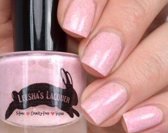 Pink is my Favorite Color - Full Size or Mini Pink Crelly Nail Polish