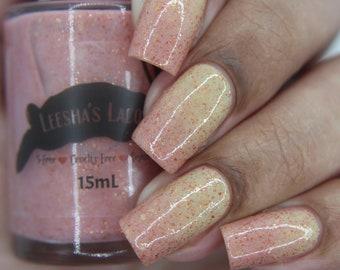 Thermal Nail Polish, Red and Yellow Nail Lacquer, Color Changing Nail Polish - Lovebird Lane