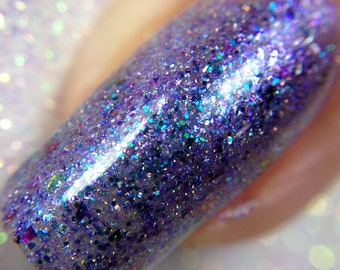 Hera  - The Goddess Collection - Purple and Blue  Multichrome Nail Polish, Vegan and Cruelty Free