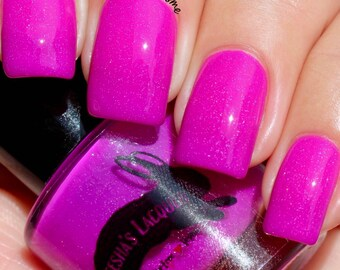 Neon Purple Indie Nail Polish - Shantay, You Stay - 5-Free, Cruelty Free and Vegan