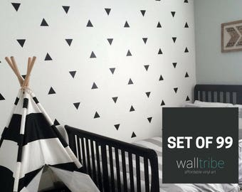 Wall Decals Triangle   Triangle Wall Decals   Vinyl Wall Decals 0036