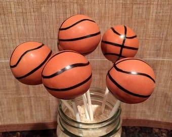 Basketball Cake Pops (Regular or Gluten Free*)