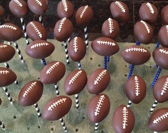 Football Cake Pops (Regular or Gluten Free*)