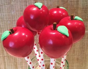 Apple Cake Pops (Regular or Gluten Free*)