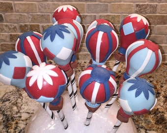 Hot Air Balloons Cake Pops (Regular or Gluten Free*)