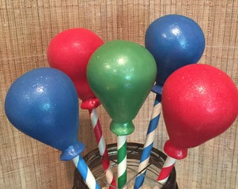 Party Balloons Cake Pops (Regular or Gluten Free*)