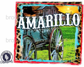 Amarillo by morning | Etsy