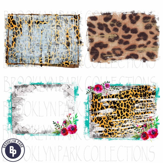 Cheetah Leopard Bundle PNG Download