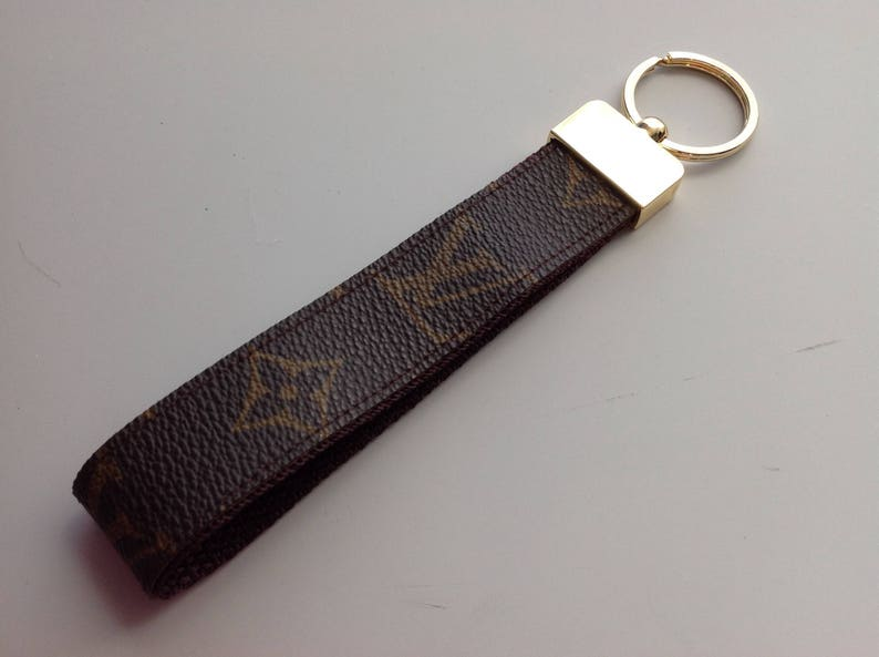 78f5305a557 Handmade Louis Vuitton Repurposed Keychain Key Fob