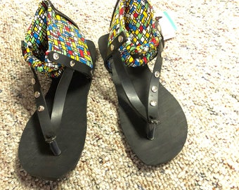 Upcycled Tire Sandals from Uganda Africa