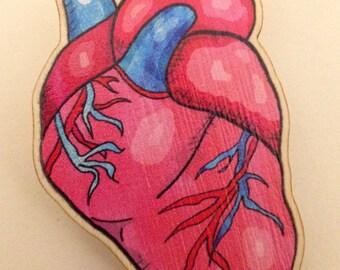 Beating Heart Brooch
