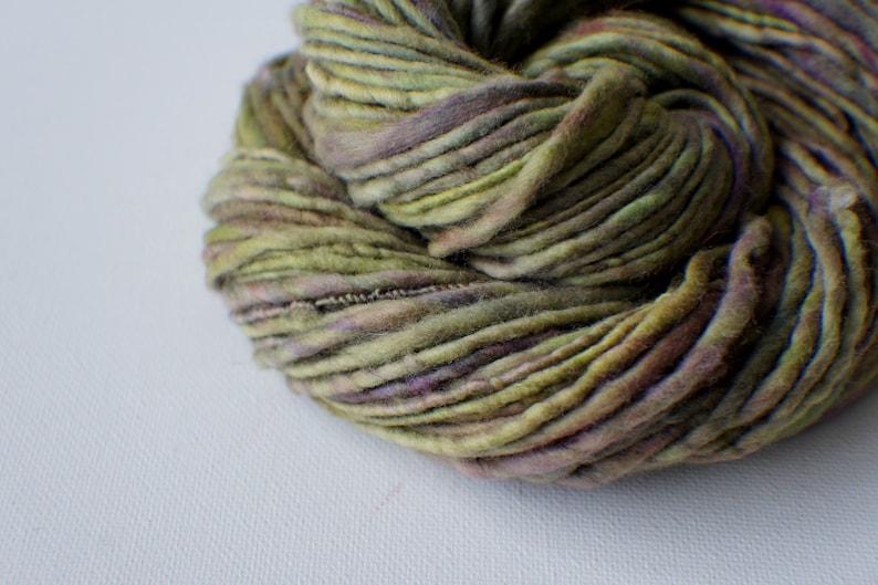 Thick and Thin Yarn knitting supplies crochet supplies Art Yarn SALE: Bulky handspun yarn