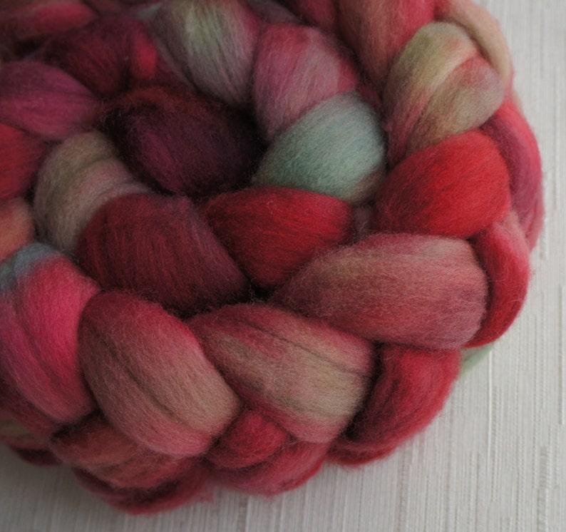 Merino Wool Roving Hand Painted Felting or Spinning Fiber