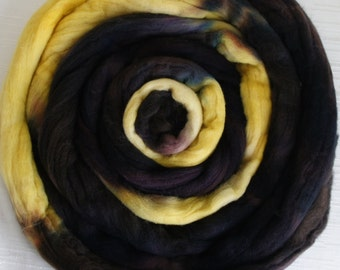 Merino Wool Roving Wool Roving - Hand Painted Felting or Spinning Fiber