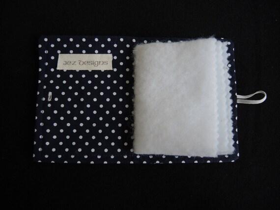 Iris shibori Yukata couture à portefeuille l'aiguille portefeuille à ou livre-indigo et blanc recyclé impression japonaise en kimono et couette ouate voyage cas-sur commande f33fc5