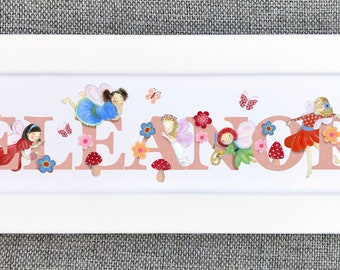 Fairy Bedroom Door Sign