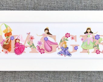 Princess Bedroom Door Sign