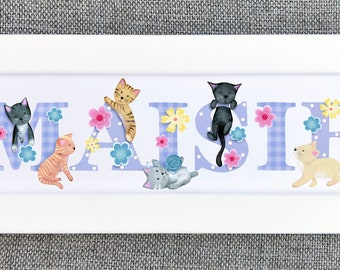 Kitten / Cat Bedroom Door Sign