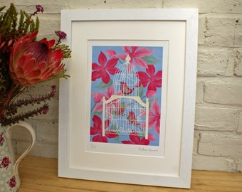 Birdcage - Unframed limited edition print