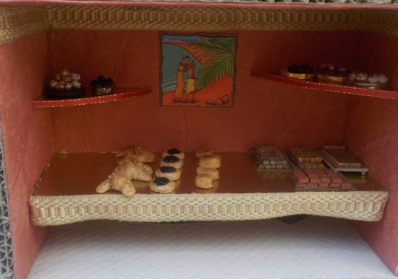 Dollhouse Handcrafted Croissants for 1:12 Doll House Miniature Bakery