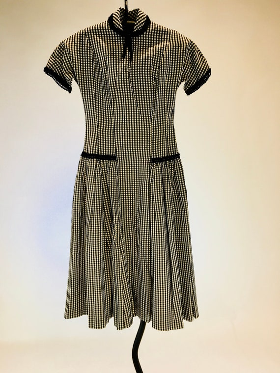 Adorable Vintage 1950 Teena Paige Black and White