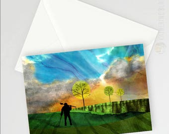 The Detectorist A6 Greetings card
