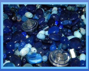 Glass//Acrylic 1 x Bag Mixed Bead Soup Various Colours Available