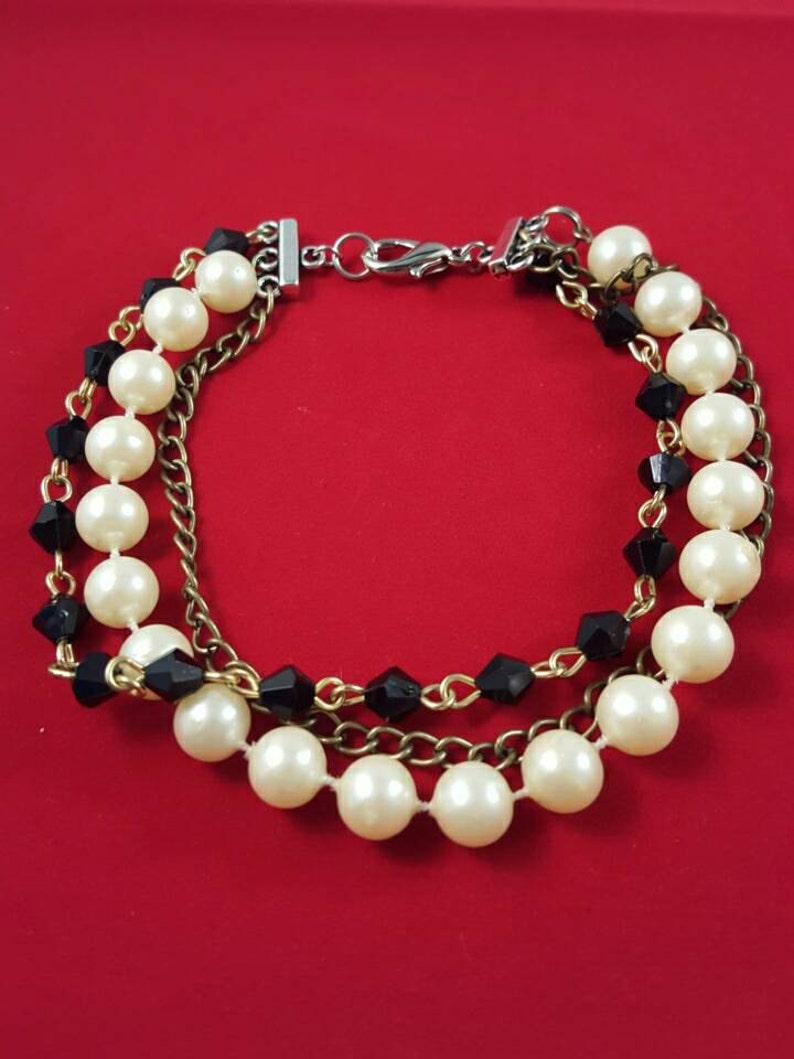 Multi Strand Bracelet image 0