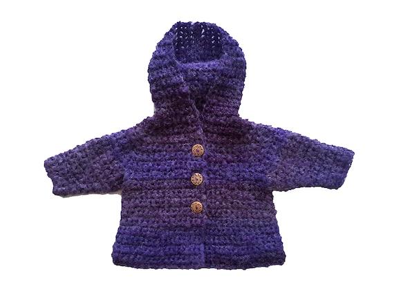 Feather light merino wool baby girl hooded sweater coat green newborn baby hoodie jacket cardigan baby shower gift present 0-3-4 months