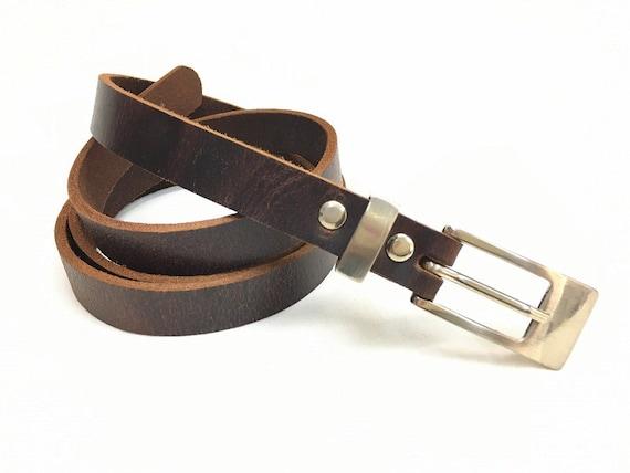A Gift For Him. Elegant Black Leather Belt For Men Unique Silver Tone Buckle Gunmetal Western country belt buckle