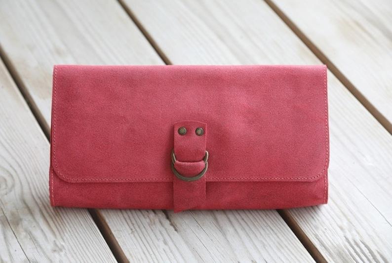 4eac7a00fb Bellamente handcrafted carpeta de cuero roja carteras de