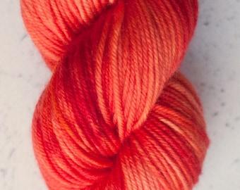 Sock Yarn, Orange