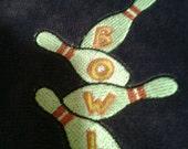 Bowling Pin towel