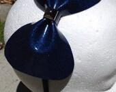 Blue Sparkle Vinyl Bow He...