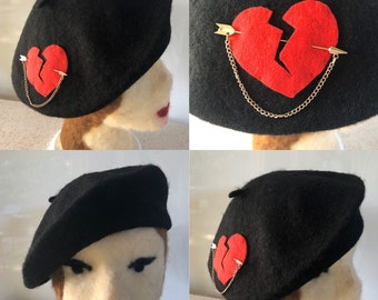 Heartbreaker Valentine Beret