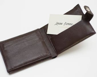 Louise Pienne leather card holder
