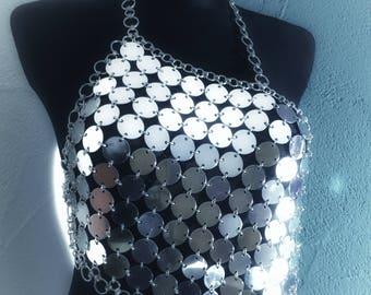 Dress 'Kikki' - Cool FASHIONSTYLE in metal