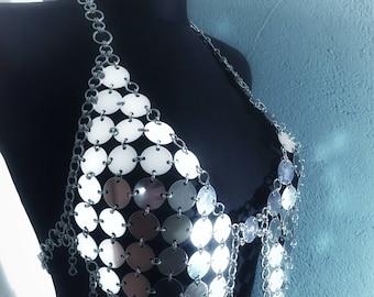 Dress 'Nova' - Cool FASHIONSTYLE in metal