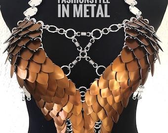Dress CREMATORY III - Cool FASHIONSTYLE in metal