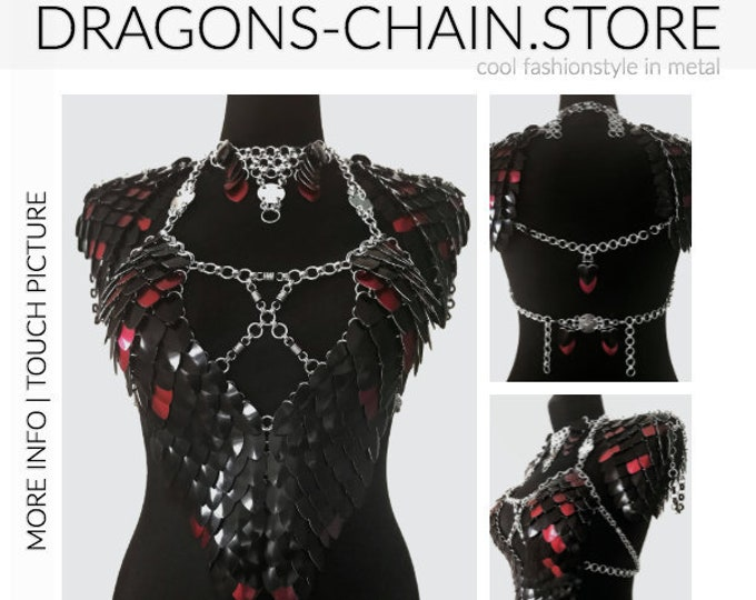 Featured listing image: Dress dragon costume 'Halloween I'