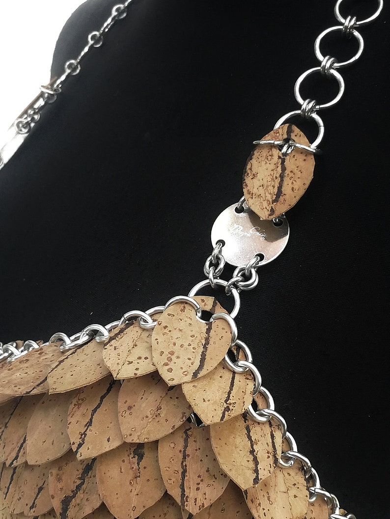 Dress /'Rubikon/' CORKfashionDESIGN by Dragons Chain\u00ae