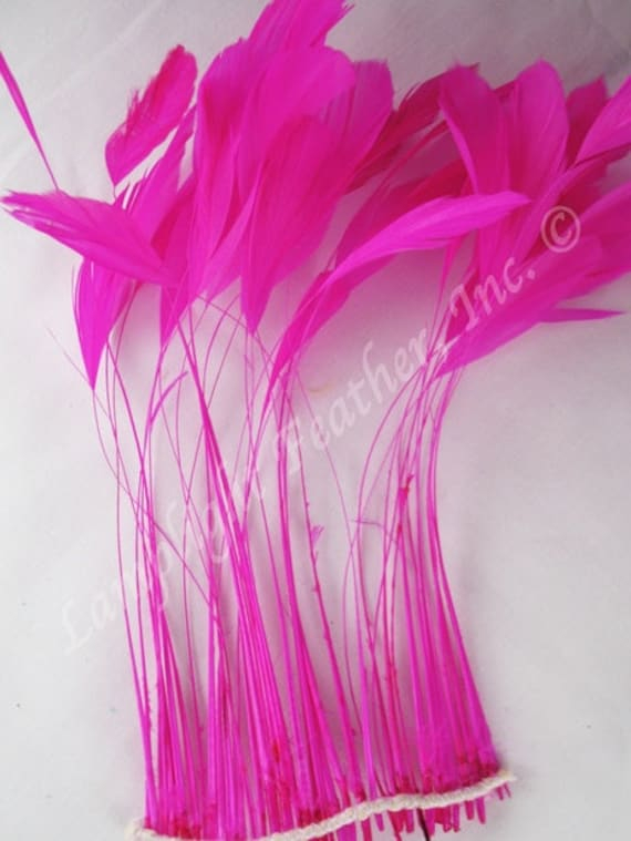 """5 pcs Ostrich Feathers Millinery /& Crafts 6-8/"""" Bright Lime Green"""