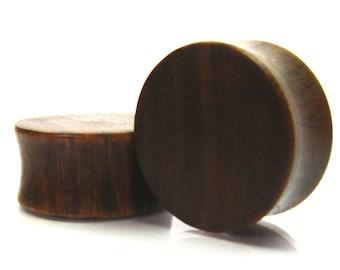 10mm 14mm Grizzly Bear Lignum Vitae Wooden Plugs 12 PAIR- Wood Ear Gauges 16 mm 716 11mm 916 58 34 19mm 78 1 13mm