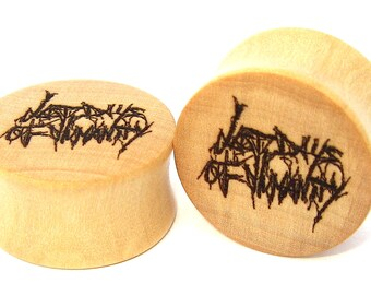 Last Days of Humanity Ear Plugs Gauges Stretchers