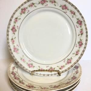 Set of 4 Vintage Floral B /& B Plates TK Thun